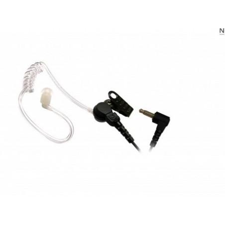 2.5mm Stecker Ohrhörer mit Schallschlauch und Wandlereinheit