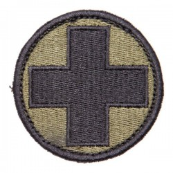 Medic patch w Velcro olive