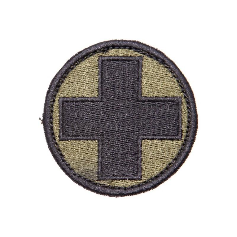 Medic patch w Velcro Grün