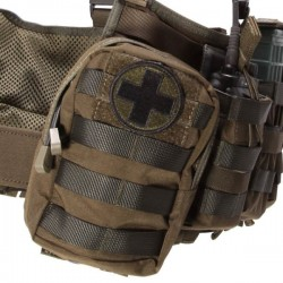 Medic patch w Velcro olive