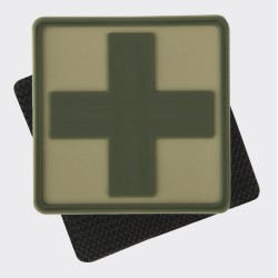 Medic Cross Patch - PVC - Khaki