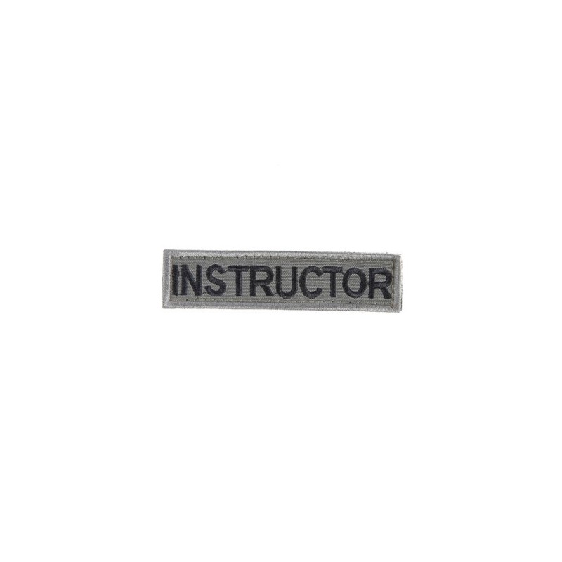 Instructor patch w Velcro -12
