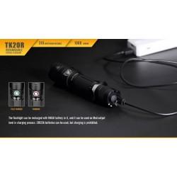 FENIX TK20R (Akkulampe mit USB)