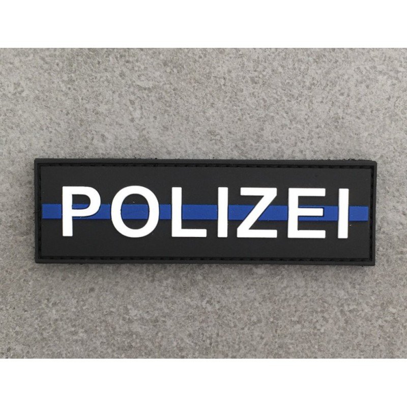"Klett ""POLIZEI"" thin blue line"