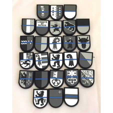 "Badge AG ""Thin Blue Line Switzerland"""