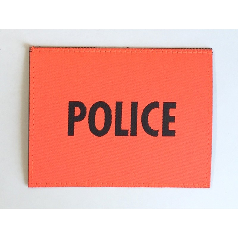 Patch Police Orange Gross