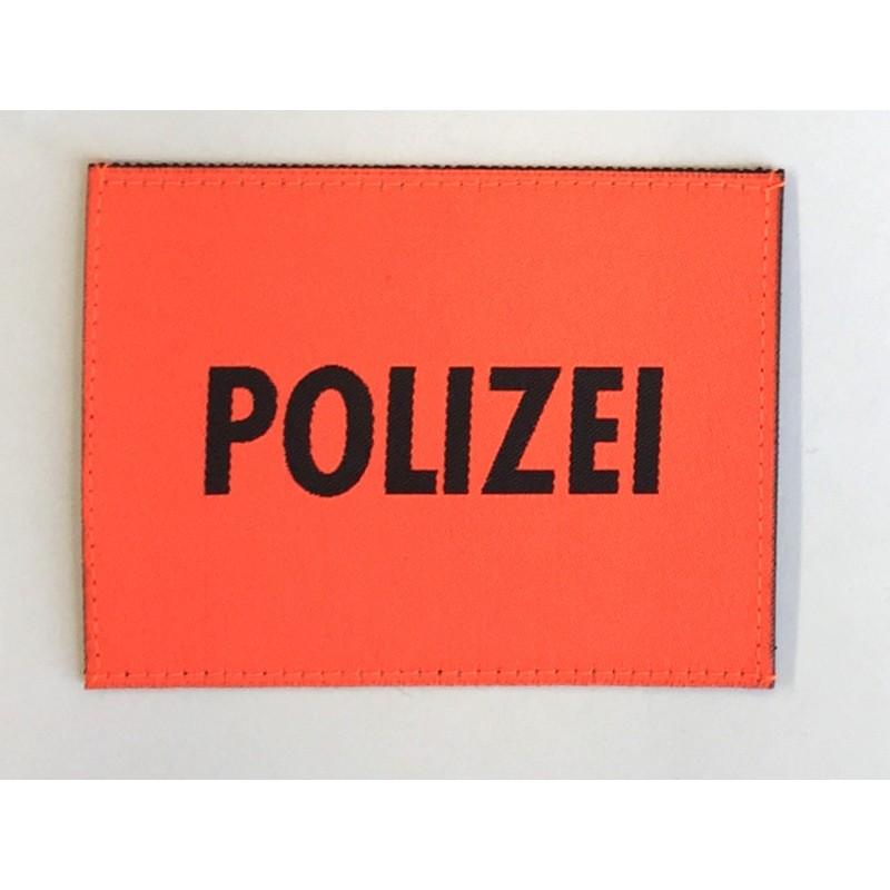 Patch Polizei Orange