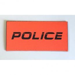 Ausweishalter, Mini wallet -11 mit Orangen Klett