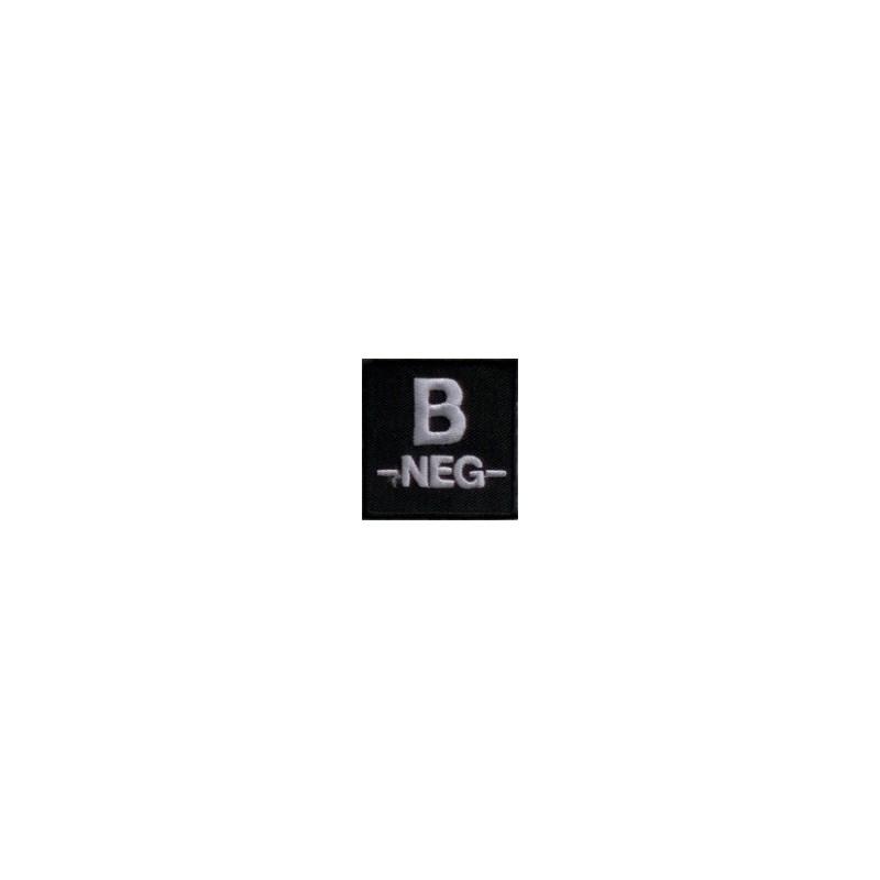 Blutgruppenpatch B-
