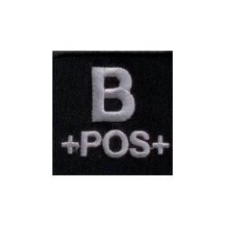 Blutgruppenpatch B+