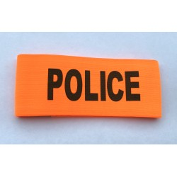 Brassard POLICE Orange