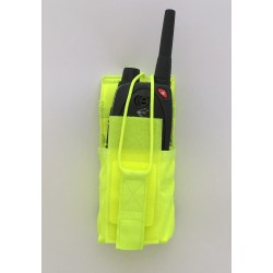 Yellow Radio pouch