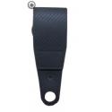 Ledergürtelschlaufe mit Aufnahme für Rotationsclip / Arrietierungsknopf / Durchlass Gürtel 60mm