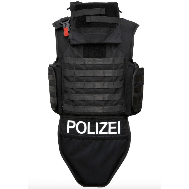 One-piece plate carrier model 60/5