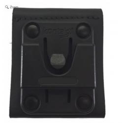 Ledergürtelschlaufe mit Kontaktpro-Mutterteil / Durchlass Gürtel 65mm / zu TPH700 / TPH900