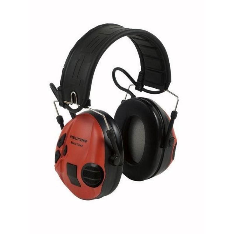 Peltor Gehörschutz Sporttac schwarz-rot
