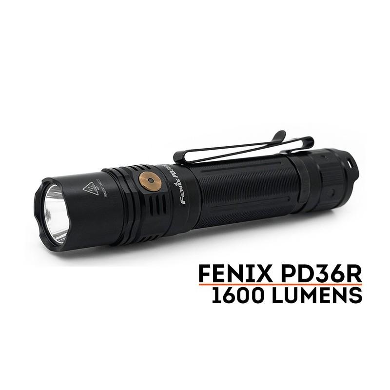 Fenix PD36R  (Rechargeable avec USB type-C)