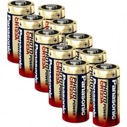Panasonic Photo CR123 3V-Lithium Power - 10er Pack