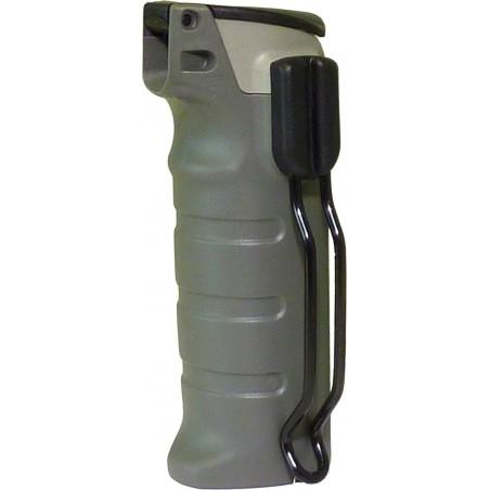 RSG Coque grise avec couvercle à ressort et clip en métal