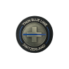 "BADGE IRON ""THIN BLUE LINE SWITZERLAND"""