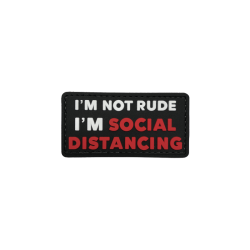 ABZEICHEN SOCIAL DISTANCING