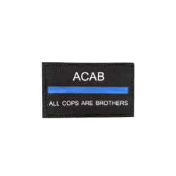 BADGE ACAB - ALL COPS ARE BROTHERS