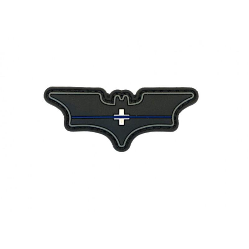 """Batman Abzeichen """"Thin Blue Line Switzerland"""""""