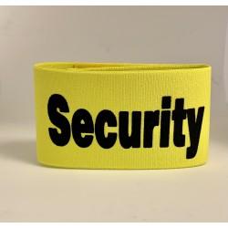Brassard Security jaune