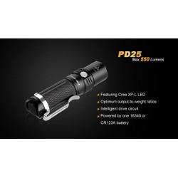 FENIX PD25 550 Lumens